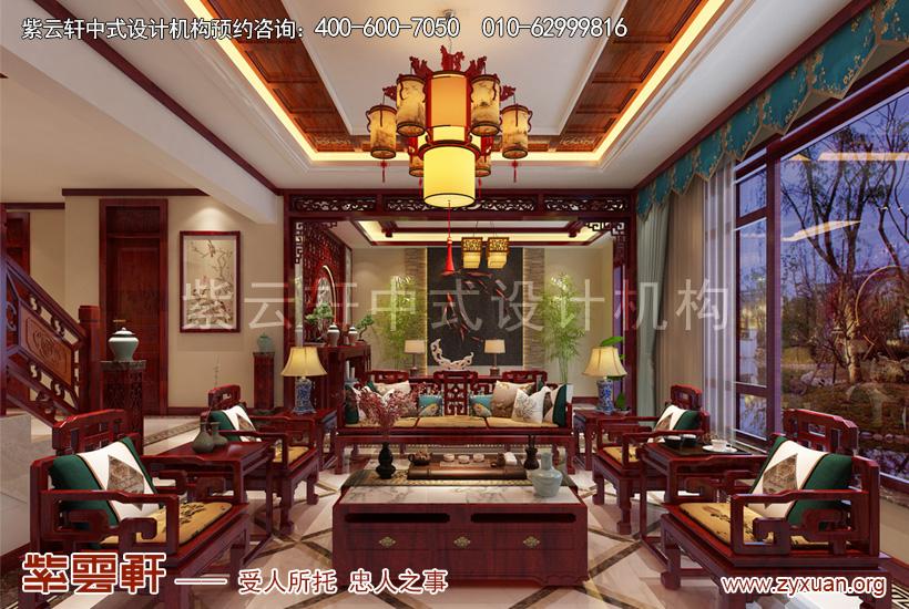 说说超豪华装修每平米的价格多少? 北京独栋别墅新古典中式装修效果图