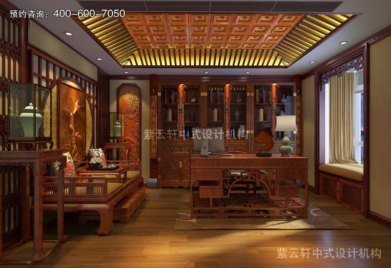 复古中式设计效果图传承中式儒雅特性