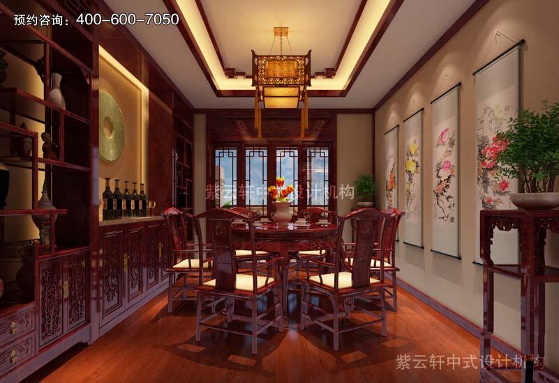 餐厅仿古中式装修实景图
