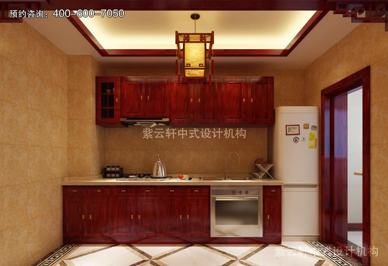 厨房复古风格装修效果图