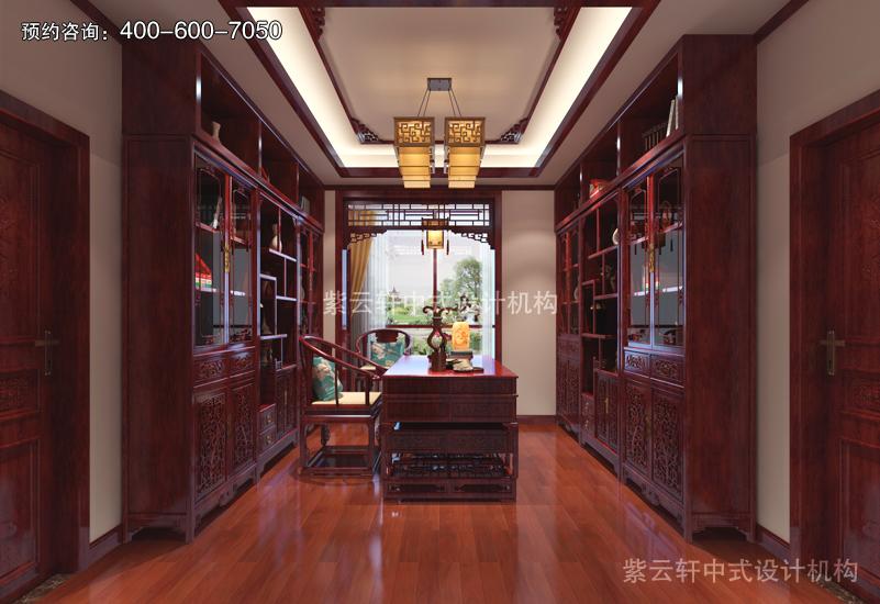 书房复古中式风格装修图片