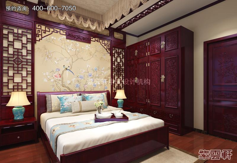 卧室古典中式装修效果图