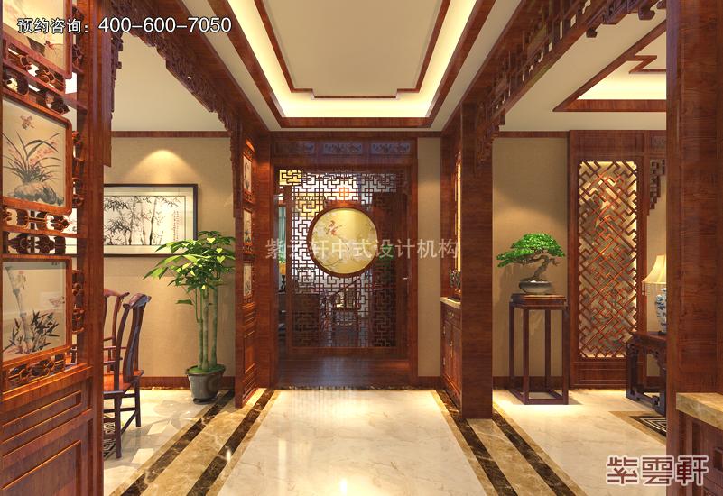 百米平层豪宅植根复古风格 装修图片美如画_紫云轩