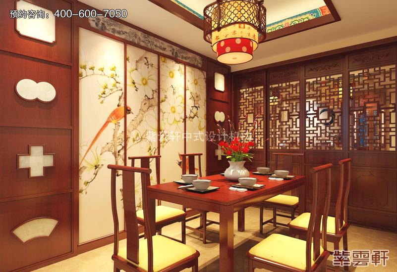 传统中式风格的复古装修效果图 富贵气像 引人入胜图片