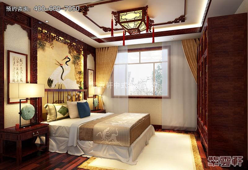 传统中式风格的复古装修效果图 富贵气像 引人入胜