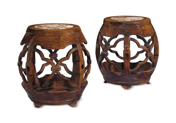 红木家具里龙椅,圈椅,坐墩体现的中国精神