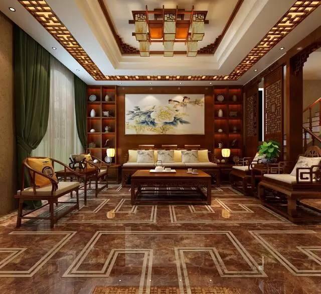 对在中式装修家居如何摆放红木家具进行介绍