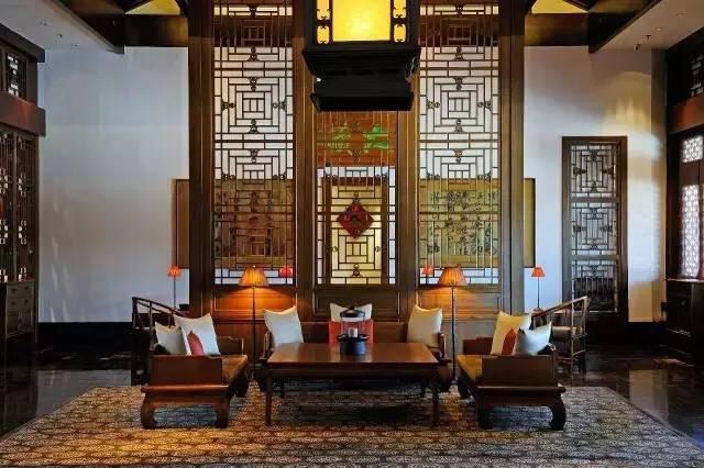中式装修住宅中红木家具如何摆放更显高品位