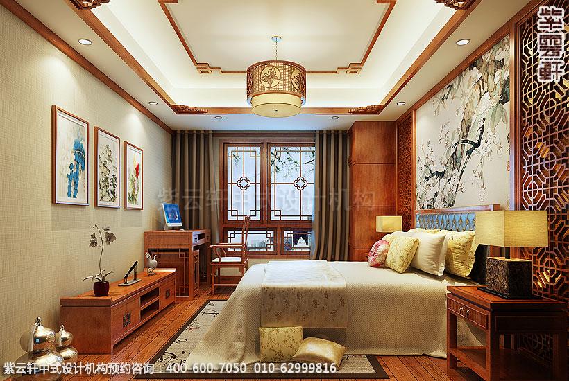 简约仿古装修案例图-卧室装修效果图