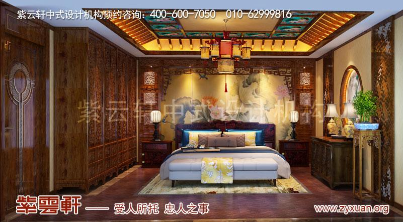卧室复古装修效果图