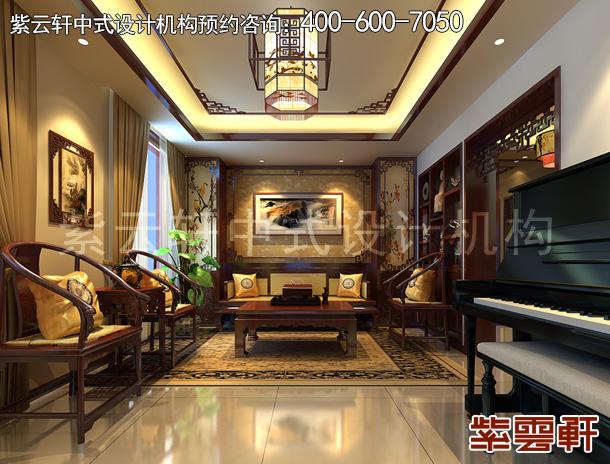 精品住宅简约中式装修案例,现代与古典风格的完美融合