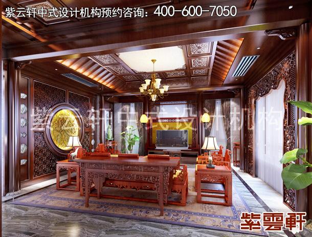 常州得园古典中式别墅装修设计:尽显钟灵毓秀之美