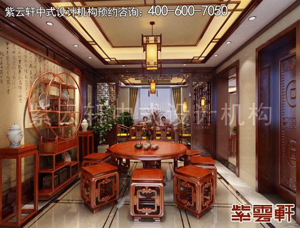 浙江东阳古典中式装修别墅设计 书香清逸凝秀妍