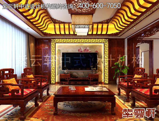 中式设计的别墅装修实景图里会选择哪些屏风