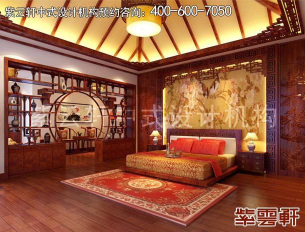 卧室中式装修图