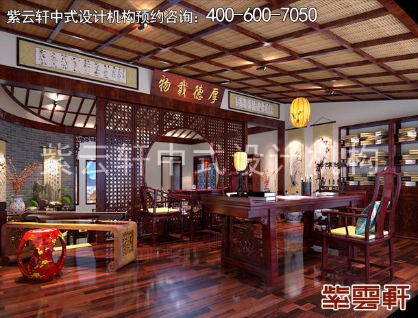 青岛崂山别墅,简中式装修设计:临海独绽,古意绵长