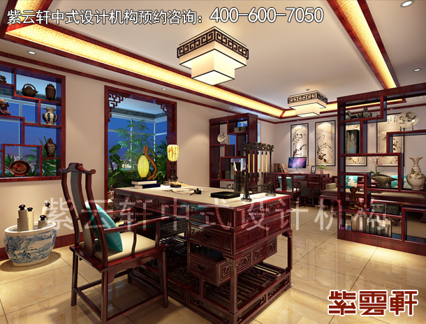 平层住宅现代中式装修风格  古雅奢华大气华丽