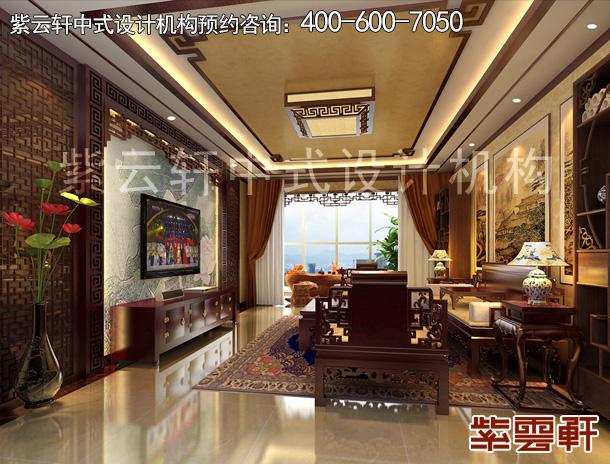 北京精品住宅古典中式装修设计案例,复古典雅温婉柔和