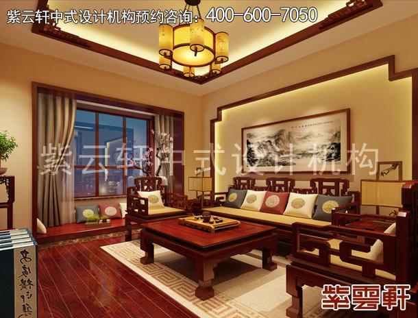 保定复古新中式房屋装修,温雅的古典风
