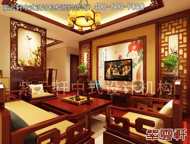 别墅客厅装修实景图