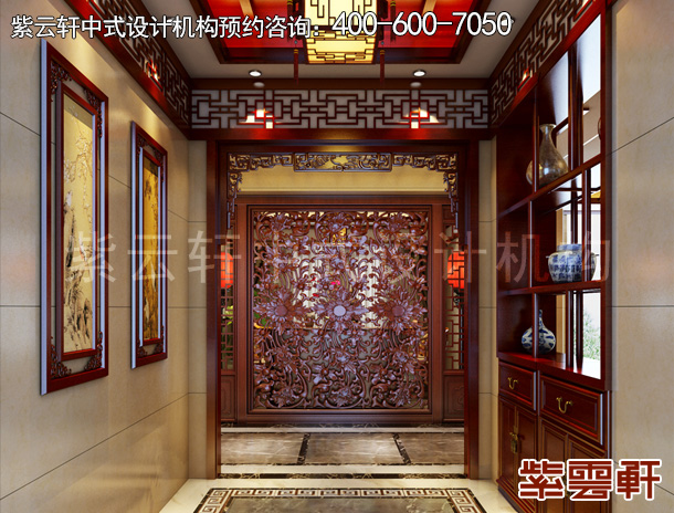 徐州传统复古中式室内装修效果图赏析
