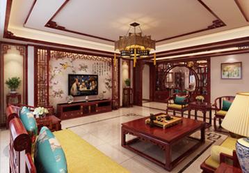 山西晋城现代中式风格房屋装修,中式装修设计的精妙所在