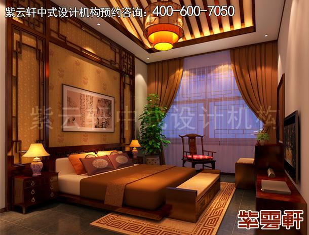 怀柔复古中式设计新房装修效果图 品中式古典韵味