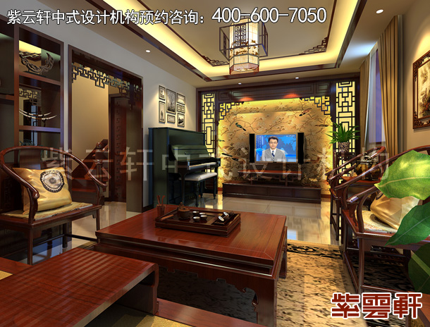 新中式新房装修效果图案例  现代与古典的完美融合