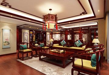 紫云轩精品家装设计--现代中式风格房屋装修效果图