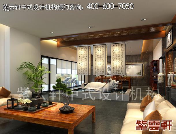 湖北新中式别墅豪宅设计:烟岚缀山林幽景