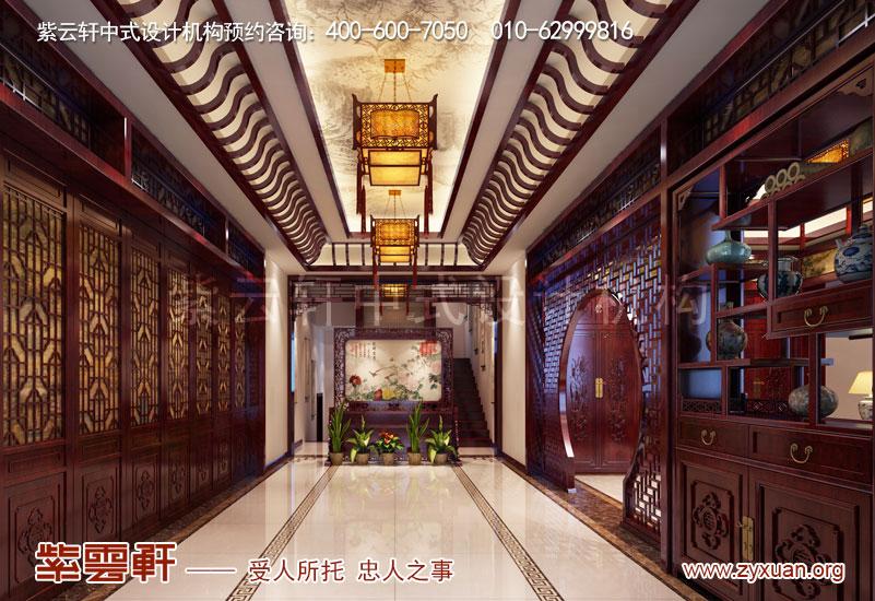 过厅复古中式装修