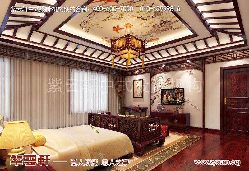 卧室复古中式装修