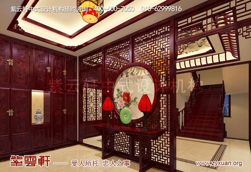 门厅复古中式装修