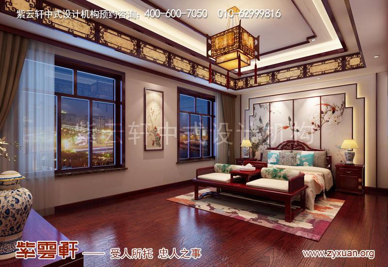 主卧室复古中式装修