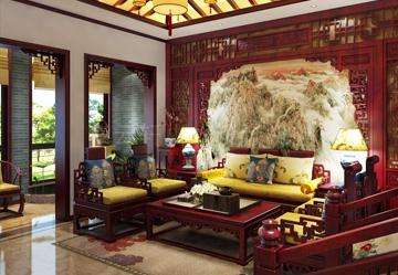 常州别墅现代中式效果图赏析,中式居家生活的独特诠释