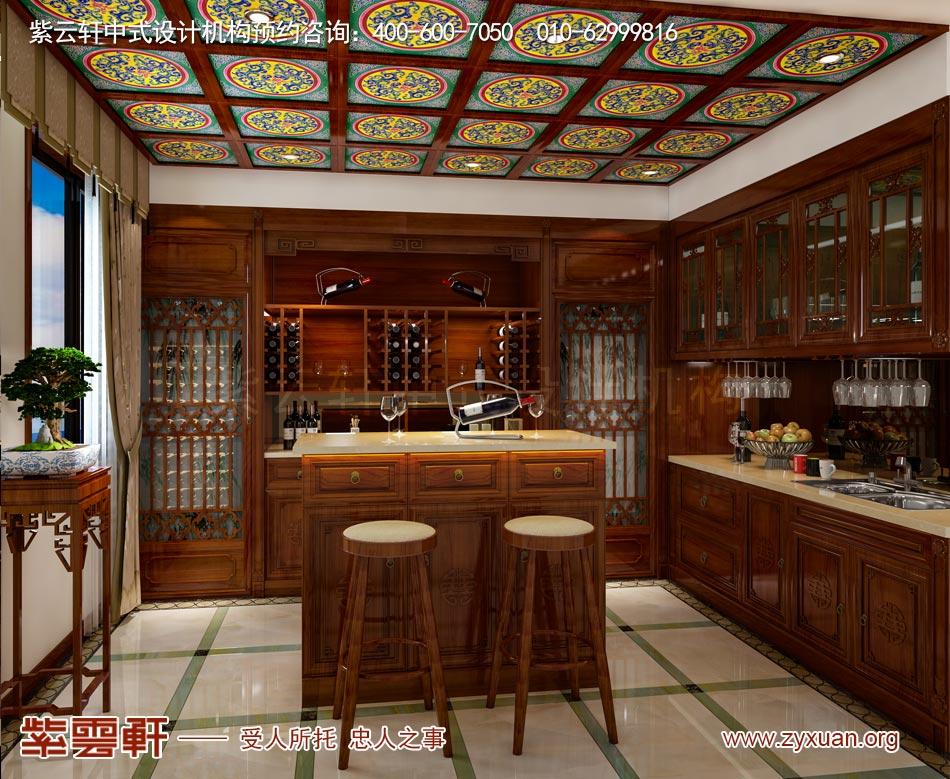 简约中式平层装修效果图的客厅