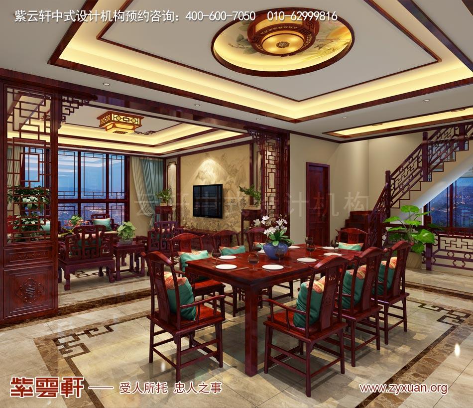 餐厅现代中式风格效果图