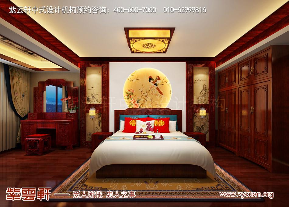 传统宫廷风格平层老人房装修效果图