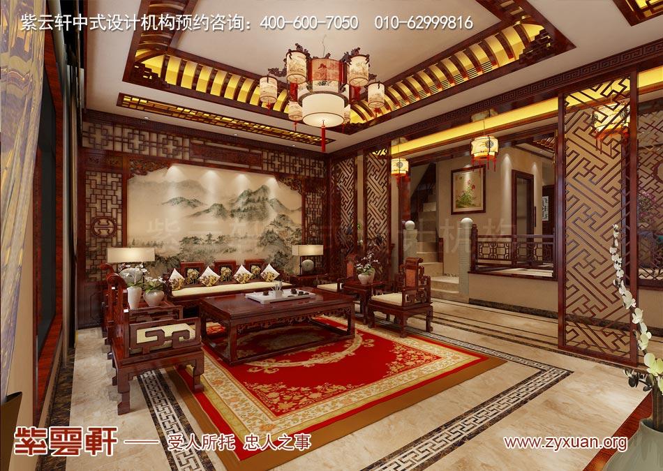南昌独栋别墅现代中式风格效果图赏析,以简胜繁的现代居室