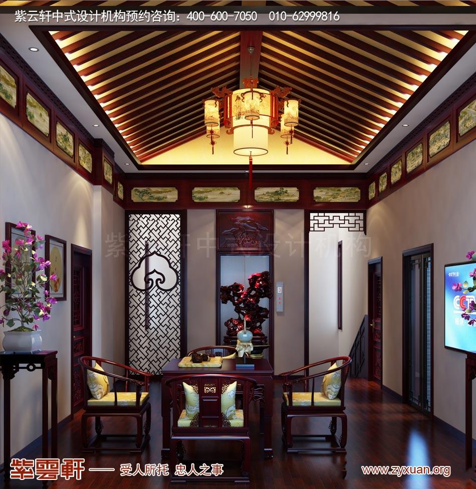 休闲室现代中式风格效果图