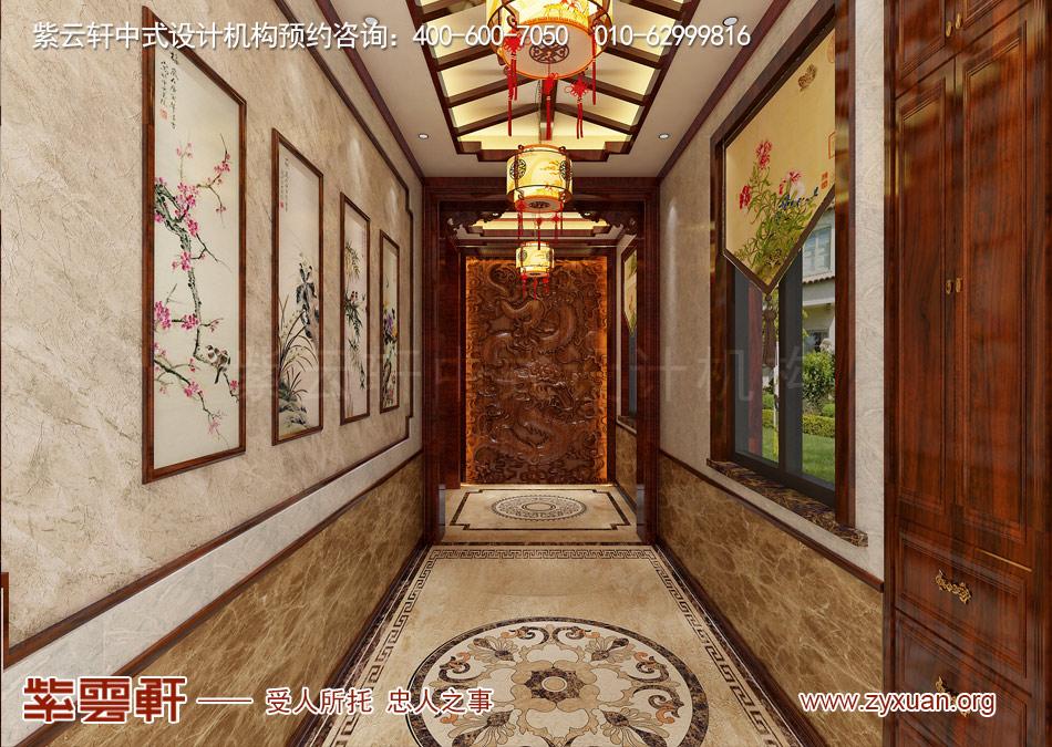 门厅现代中式风格效果图