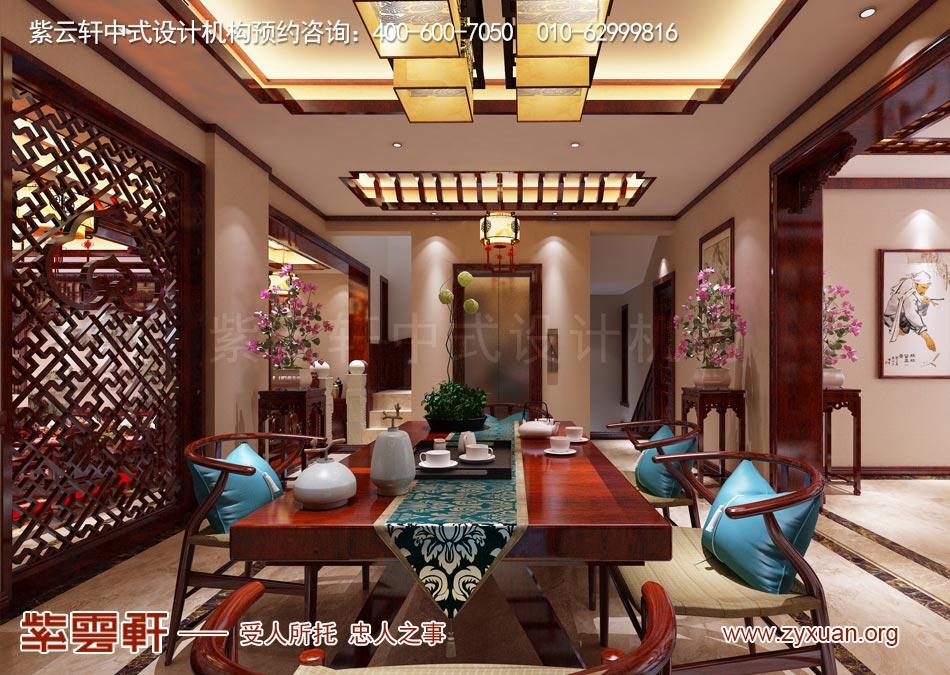 茶室现代中式风格效果图