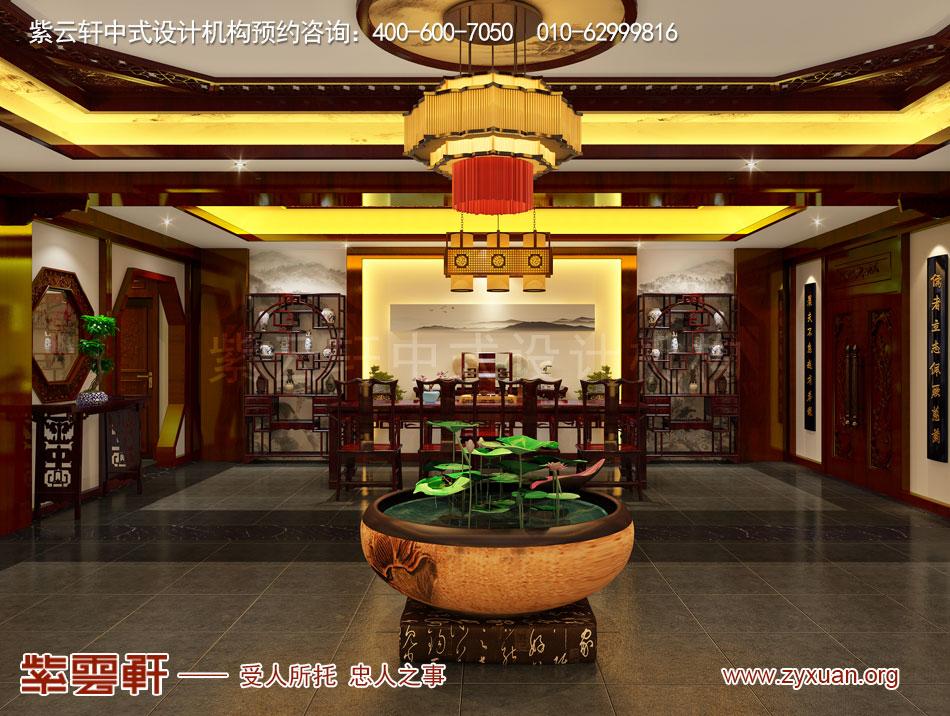 茶室现代中式风格装修效果图