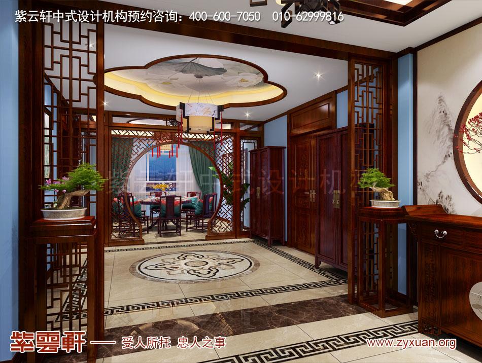 就餐厅现代中式风格装修效果图