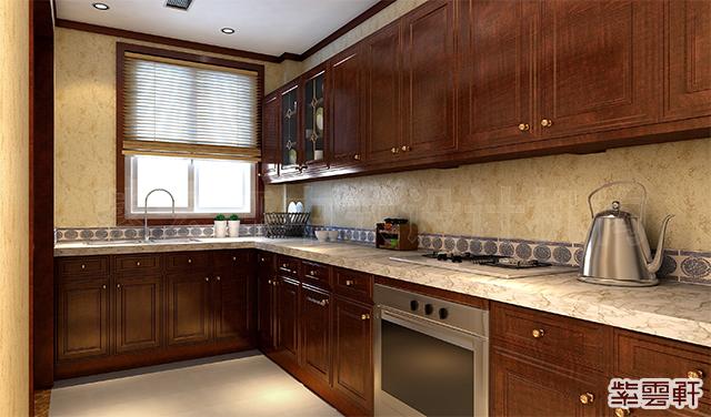 中式装修中,厨房的设计需要注意哪些方面?