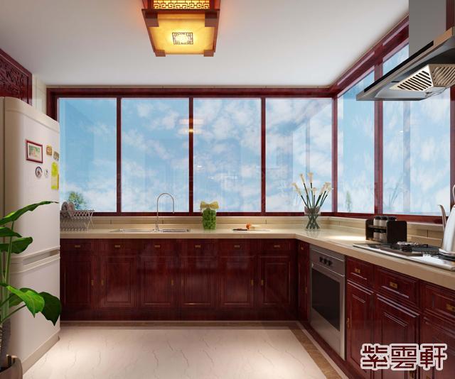 中式厨房装修