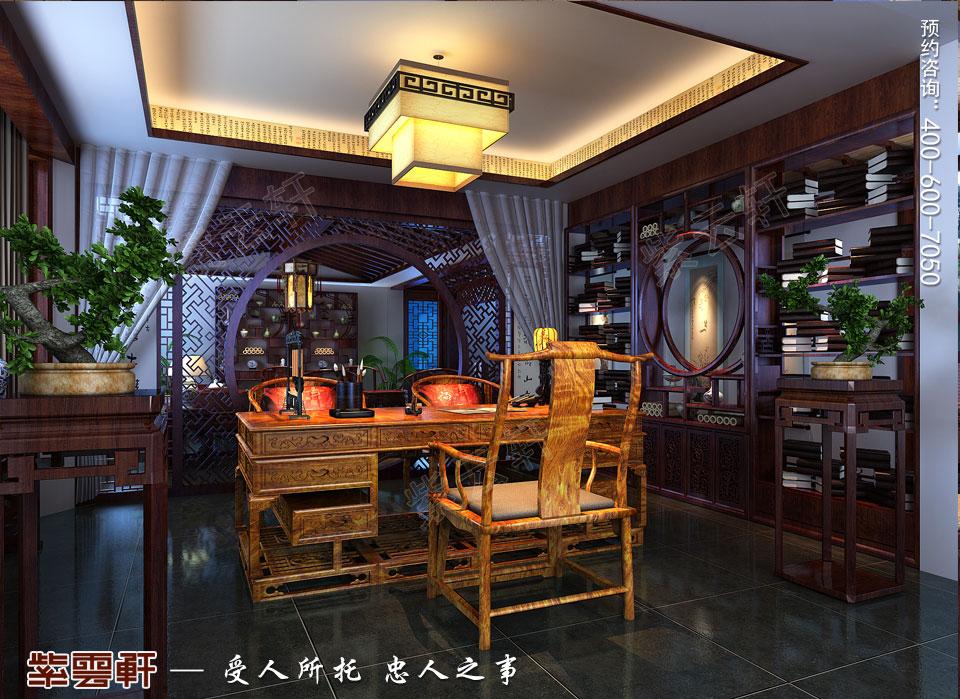 中式书房雅趣,别有一番风味