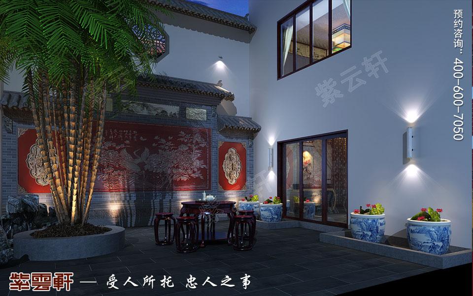 悠闲安然的中式庭院