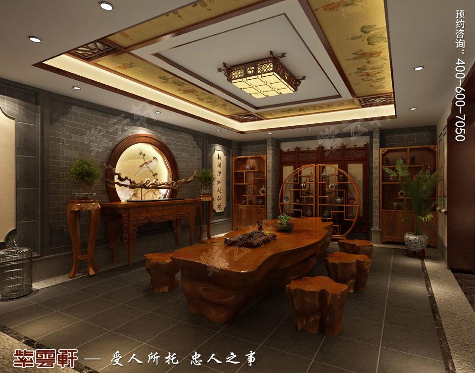 中式茶室,中式风韵