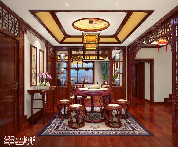 起居室中式风格装修图